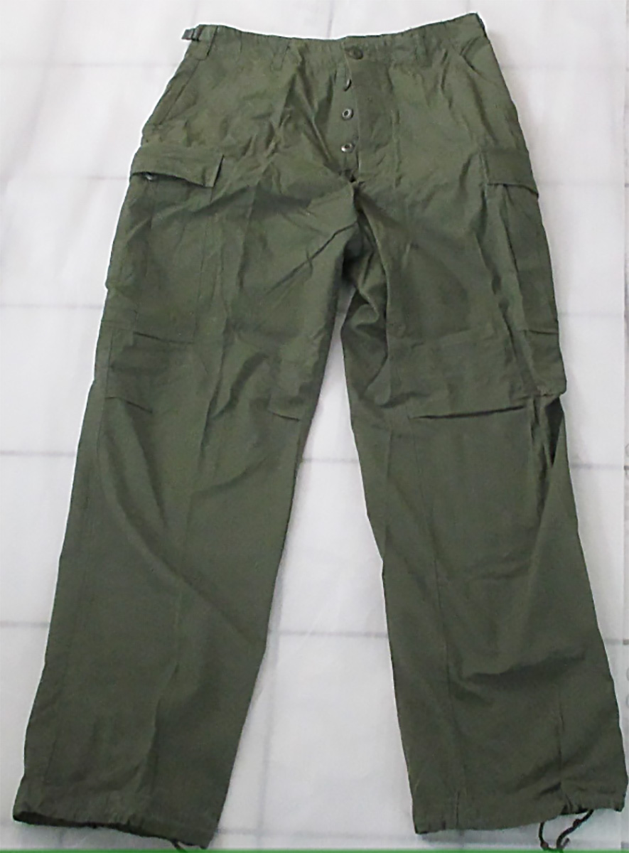 It is easy to confuse post-war pants with the real deal