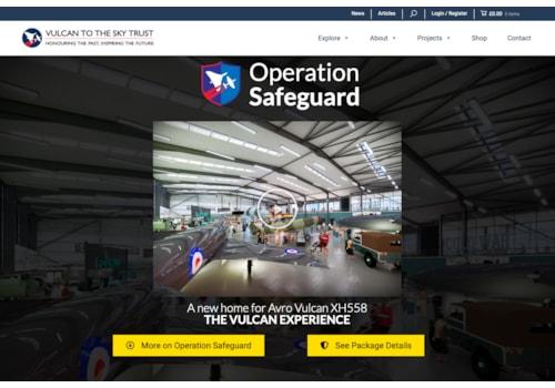 Operation Safeguard will create a green environmental hub around the Vulcan bomber