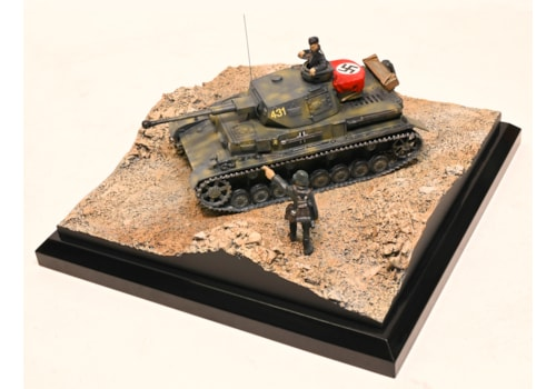 New model Panzer IV Aus. f2 from Staples and Vine