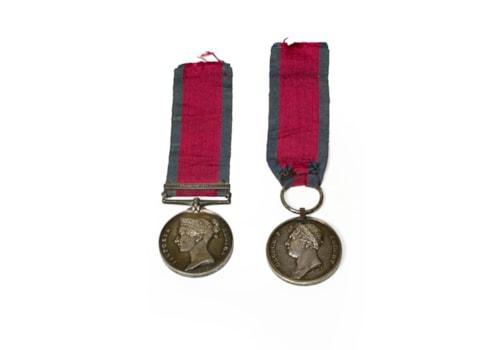 Peninsula Waterloo Medals at Tennants