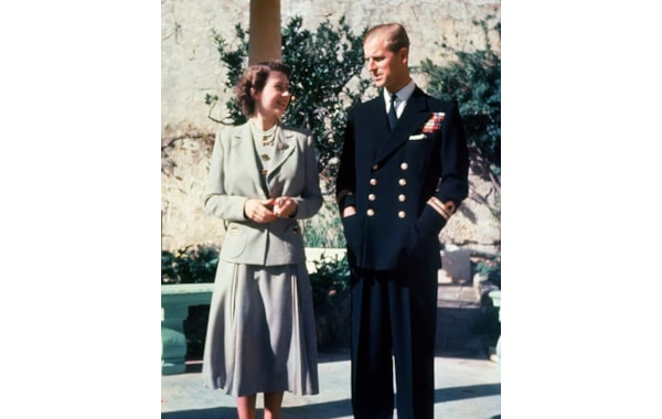 Prince Philip with HM The Queen