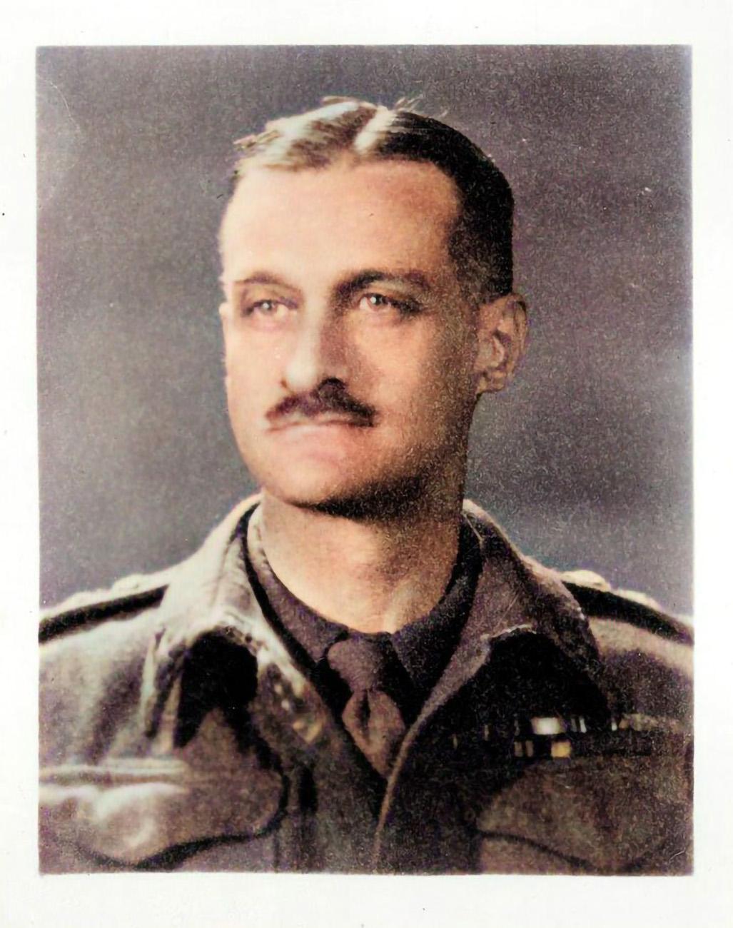 Brigadier Bagnold, founder of the Long Range Desert Group