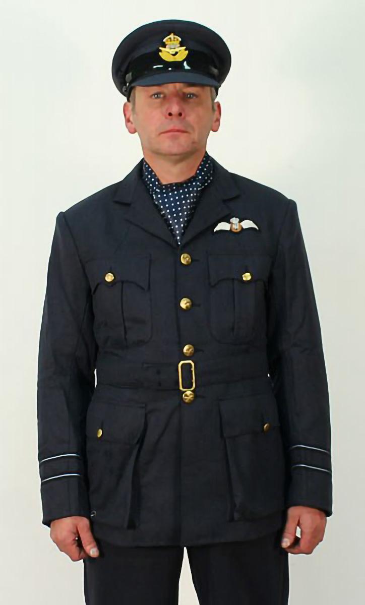 RAF tunic - chocks away chaps
