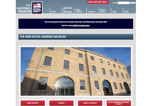 The RN Museum seeks a new home