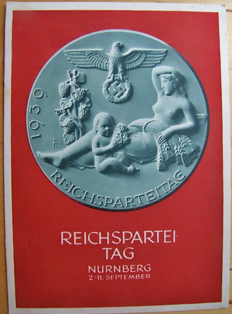 Reichsparteitag Party Rally Propaganda postcard
