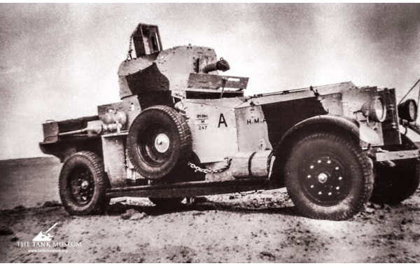 The Rolls Royce armoured car in Egypt in 1934