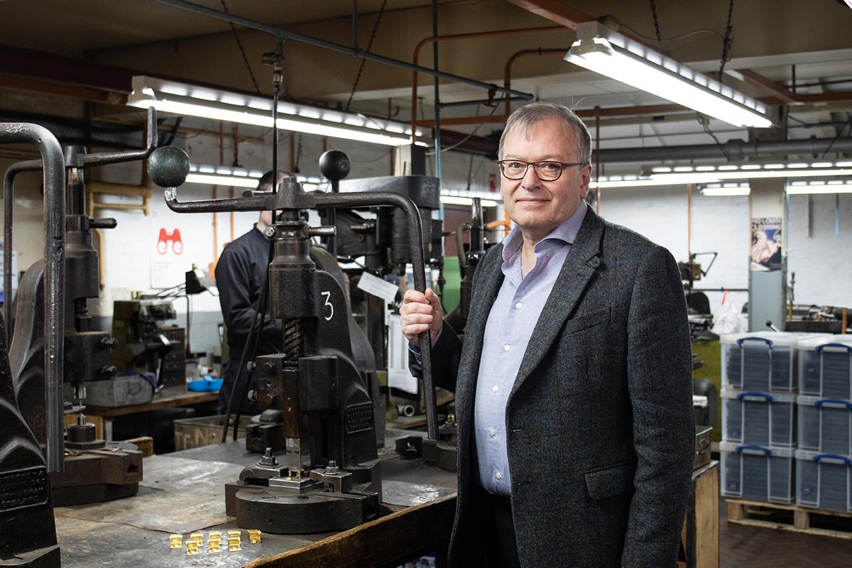 Simon Topman, Managing Director of ACME Whistles