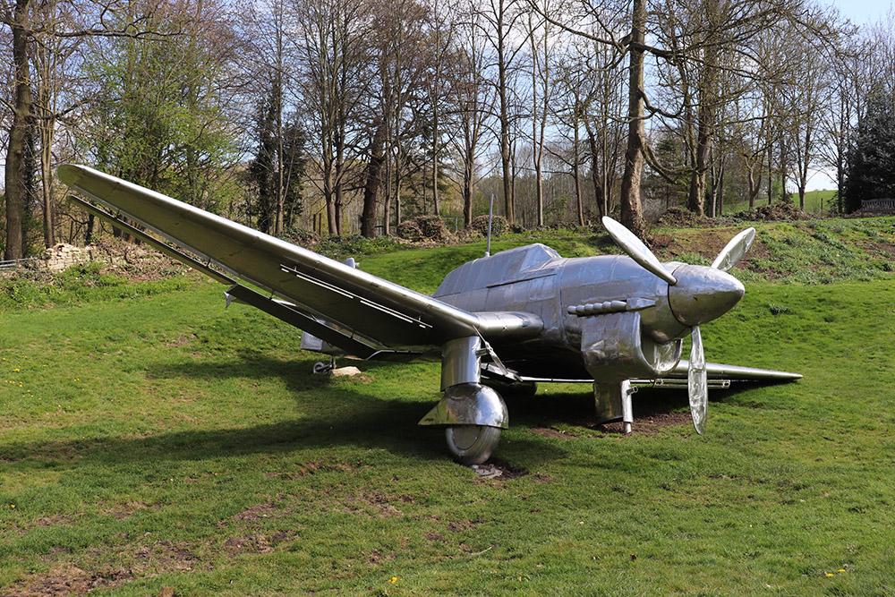 Stuka Ju-87 sculpture at Burghley House