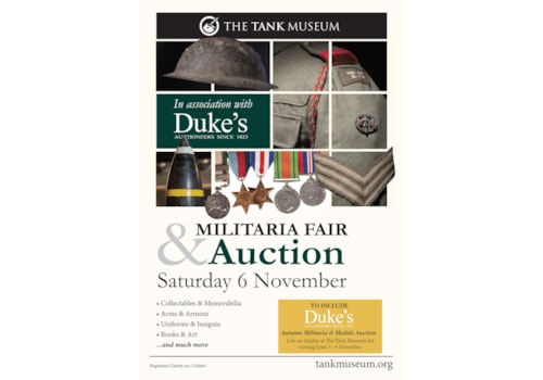 Militaria auction at the Tank Museum