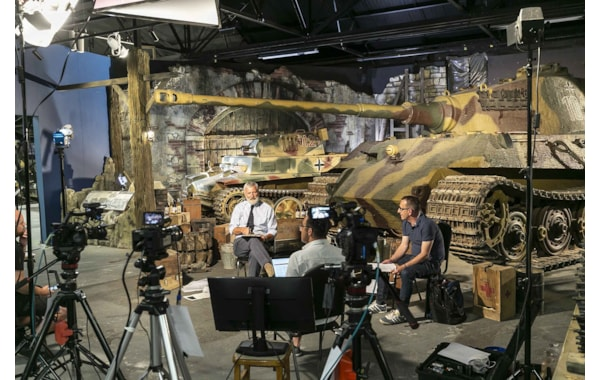 Presenting the online event from the Tank Museum