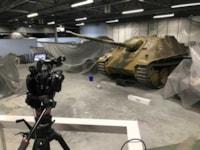 Jagdpanther prepares for a custom skin