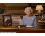 HM The Queen giving her VE Day 75 address