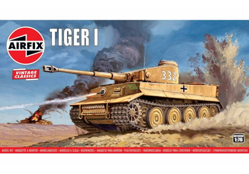 Tiger I Vintage Classic 1:76 scale