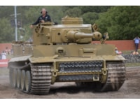 Tiger 131 going through its paces