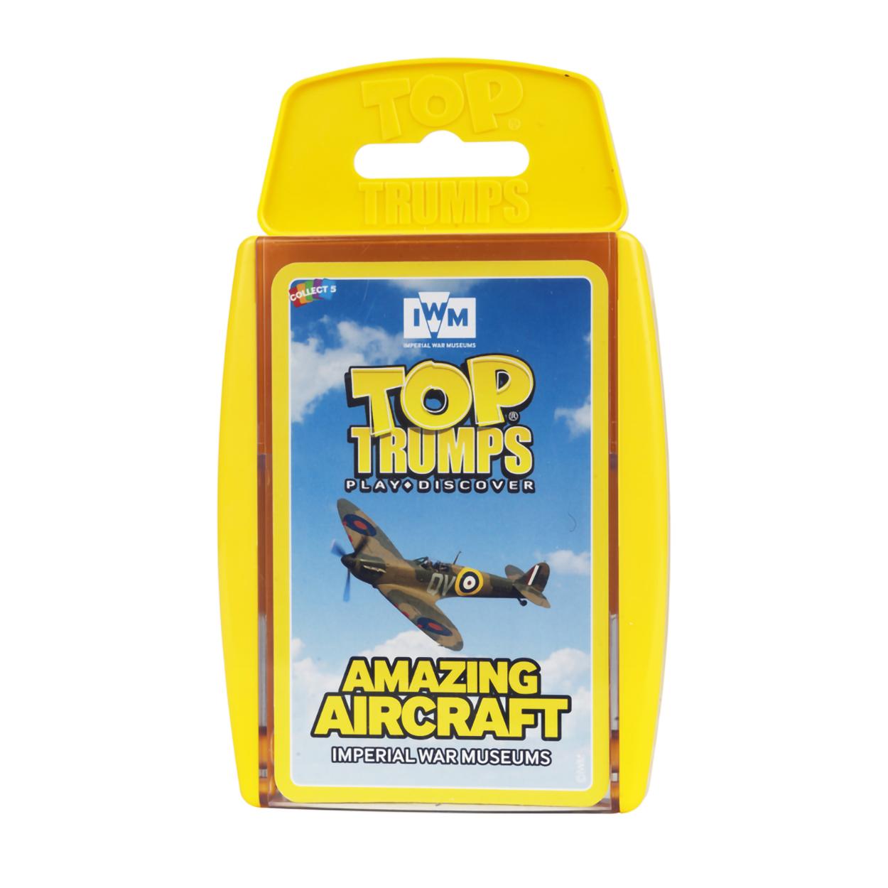 Top trumps: Amazing Aircraft