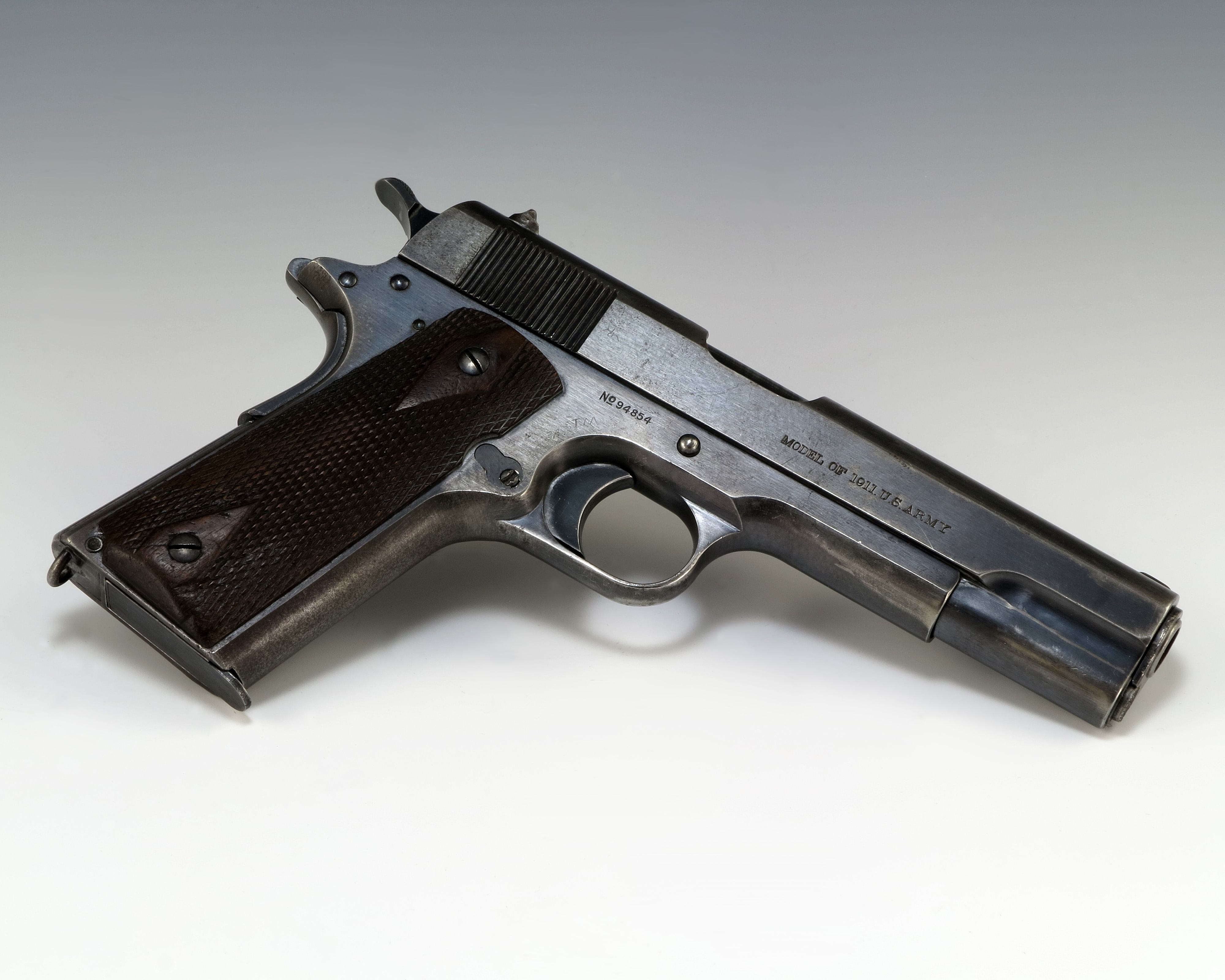 The .45 calibre Colt Model 1911 remained as popular with the troops in Vietnam as it was in both World Wars and Korea