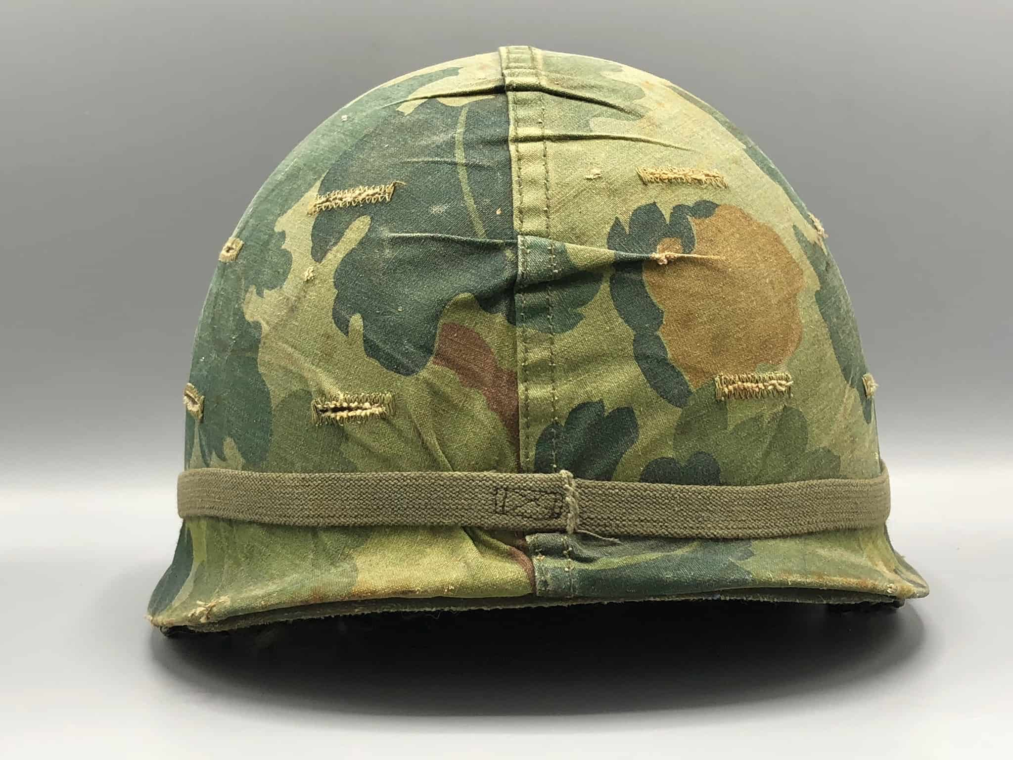The helmet used in Vietnam was identical to the one used in Korea and differed from the WWII version by having a lower profile