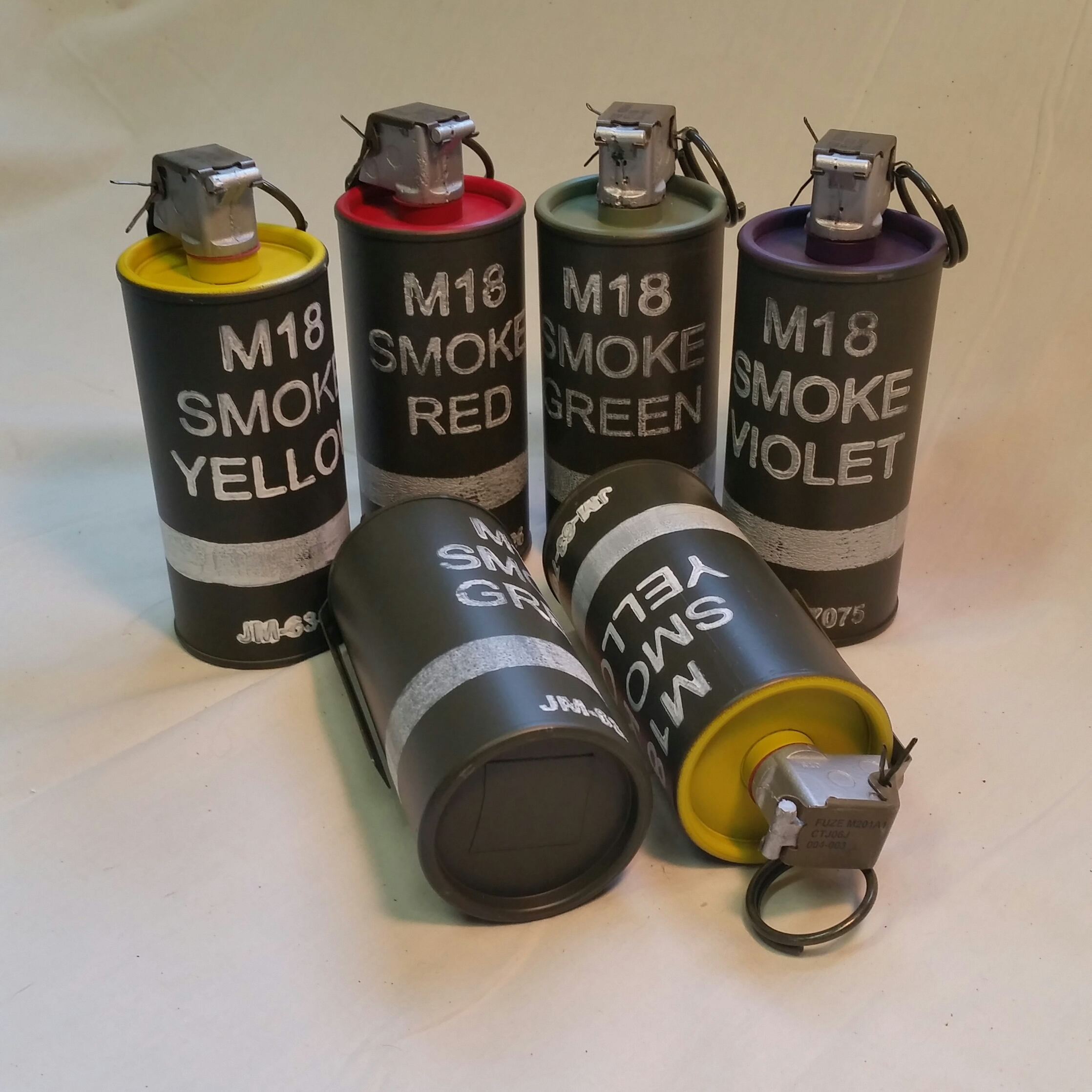 Smoke grenades were necessary for visual contact between ground forces and helicopters