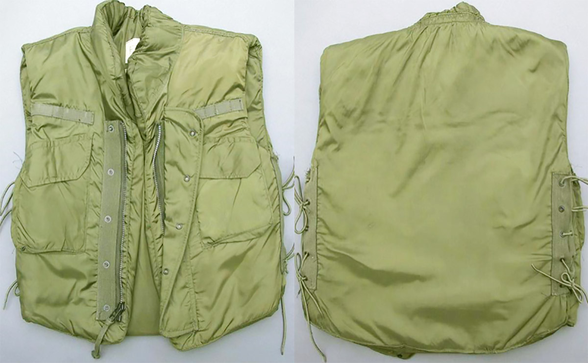 Flak vests were hot, heavy, and as such were worn open thus providing little frontal protection