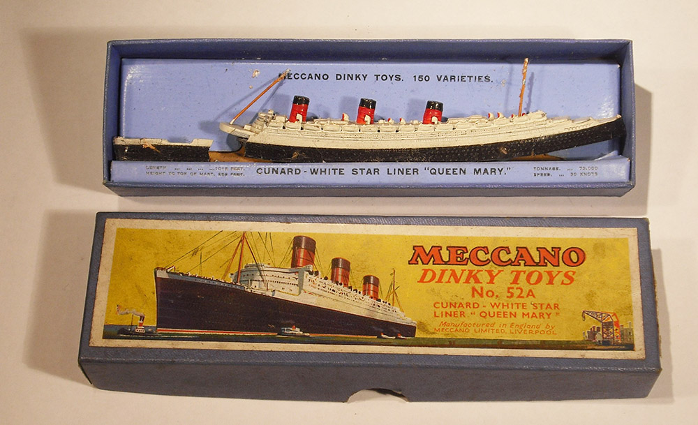 Meccano toy ship