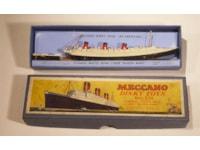 Meccano toy ship