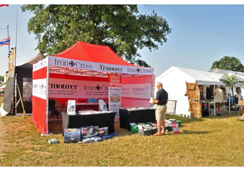 The Armourer and Iron Cross stand at last year's show