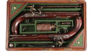 Wogdon & Barton Duelling Pistols