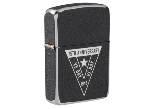 Zippo Lighter 1941 Steel Black Crackle finish