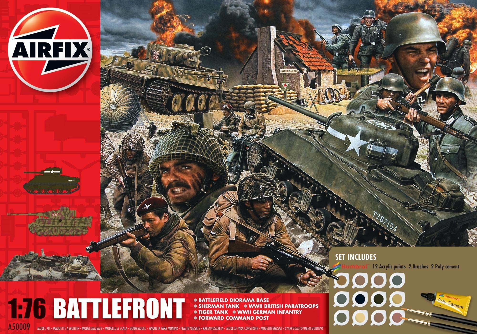 Airfix Battlefront Set - make war not peace