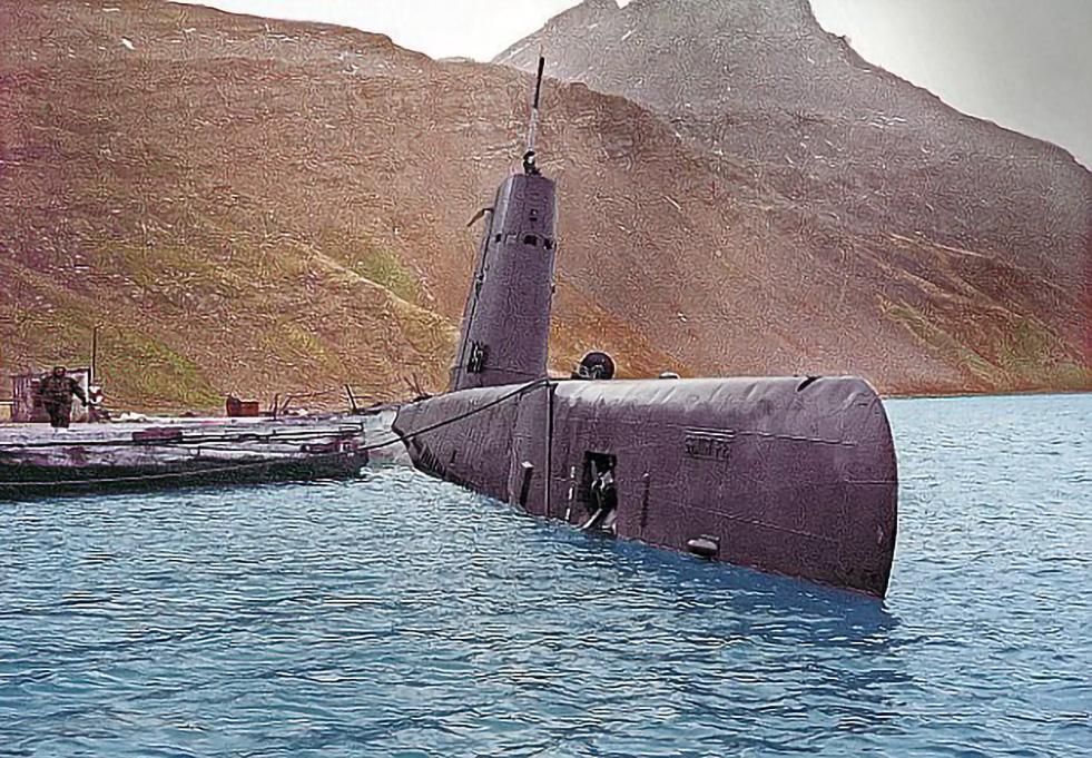 The Santa Fe Argentine submarine