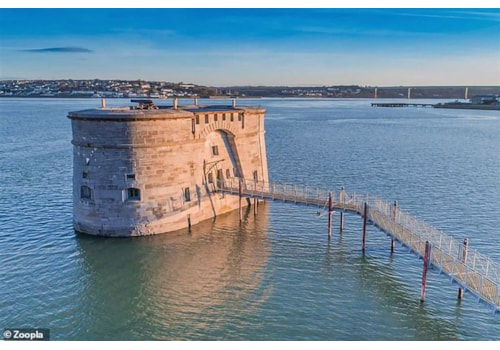 The gun tower in Pembroke Dock