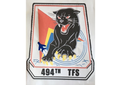 494th TFS personnel nose art