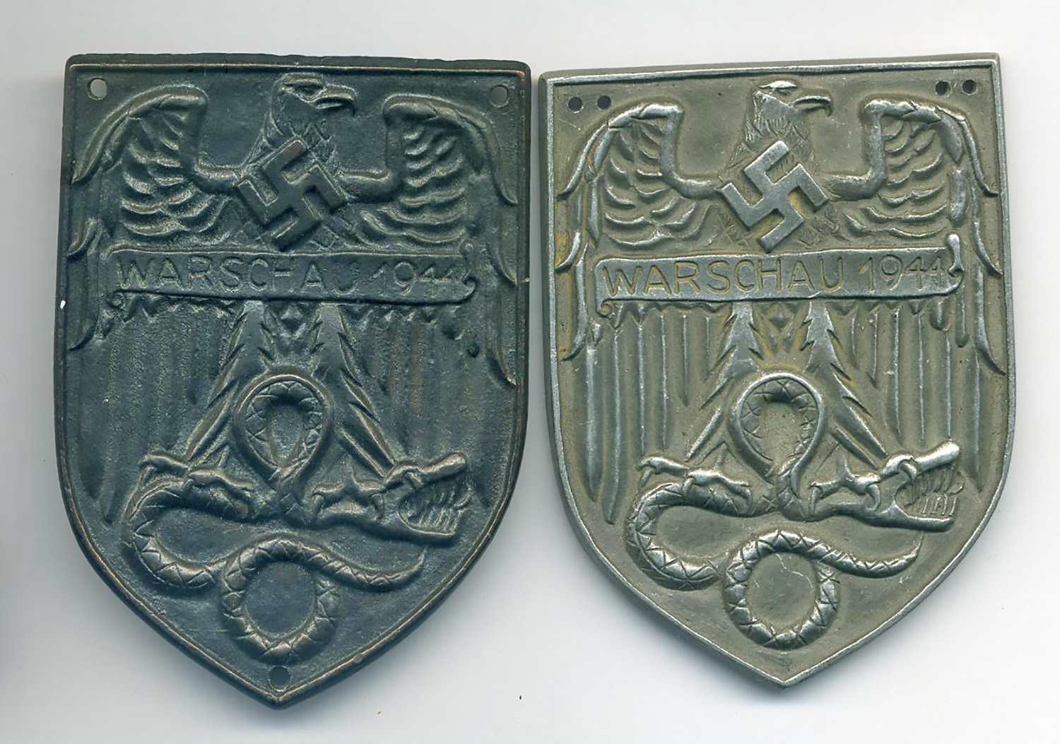 A pair of Warsaw shields
