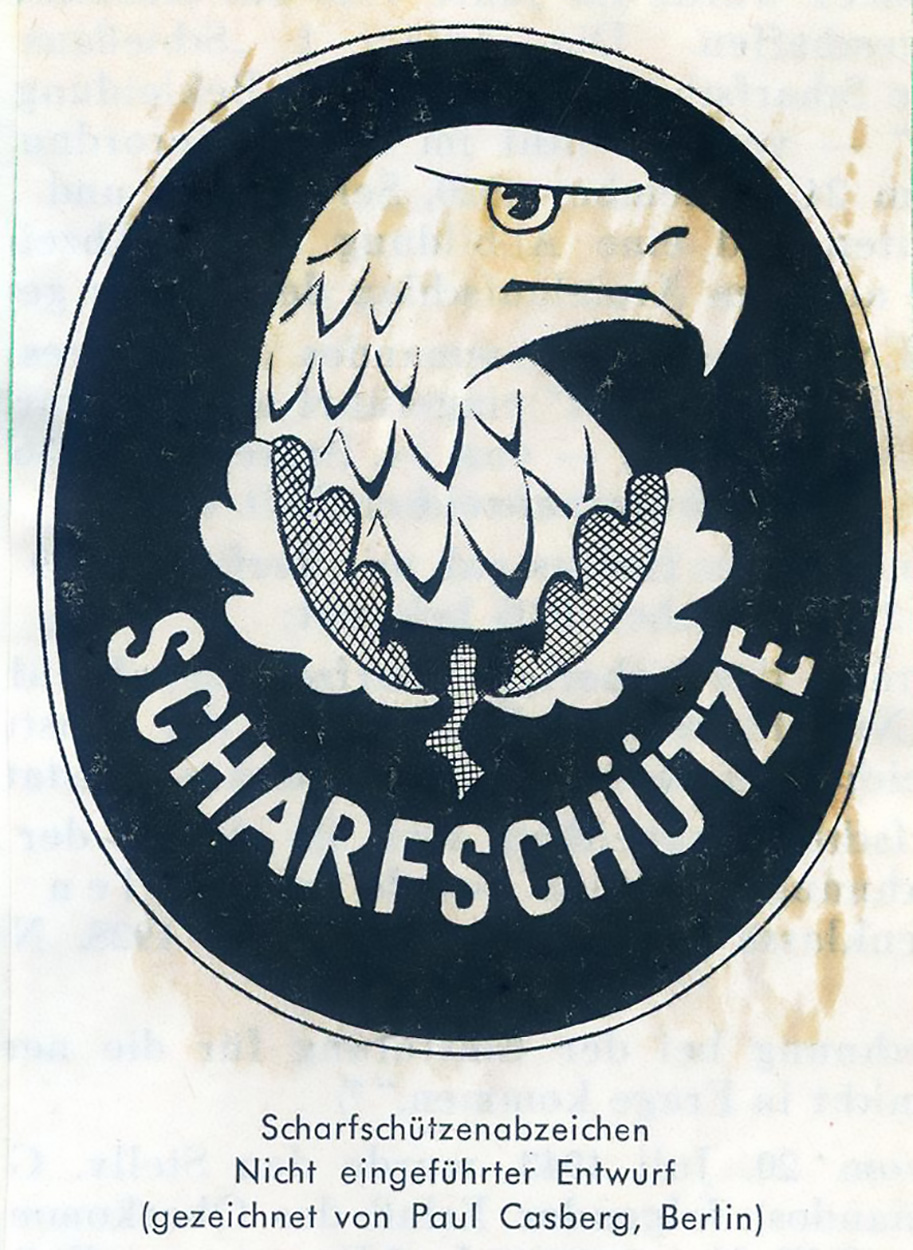 The original paratroopers cloth badge