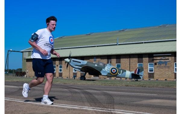 RAF Conningsby charity run