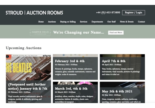 Stroud Auction Rooms will be changing name