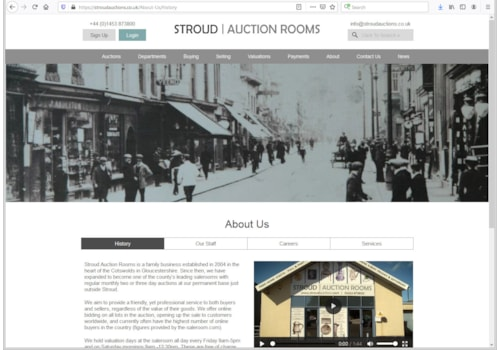 Stroud Auction Rooms is closed