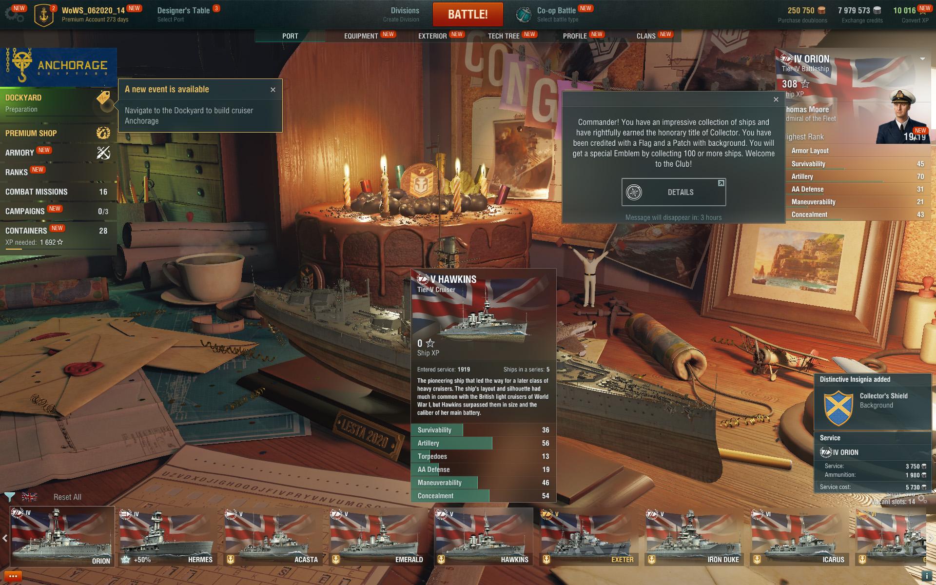 World of Warships - build your fleet