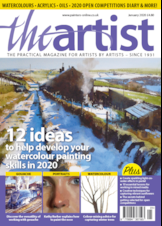 The Artist Latest Issue Front Cover