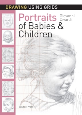 Drawing Using Grids Portraits of Babies & Children
