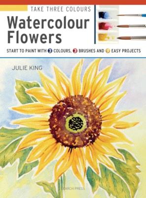 Take Three Colours Watercolour Flowers