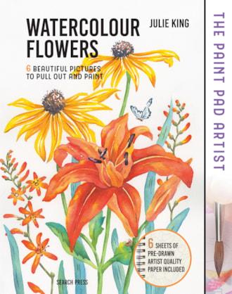 The Paint Pad Artist Watercolour Flowers