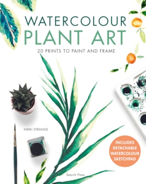Watercolour Plant Art
