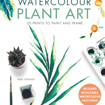 Watercolour Plant Art