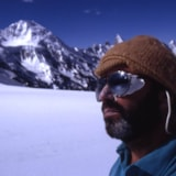 Sef on final snow field Ghondor Peak2