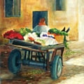 Vegetable Cart in Aswan by Carole D Kelly