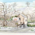 Chiselborough village scene - final version