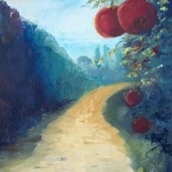 Pomegranates in Puglia
