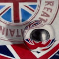 Union jack and ball reflections