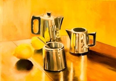 Tea with milk or lemon?